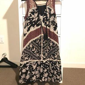 Size 2 Anthropologie midi Dress